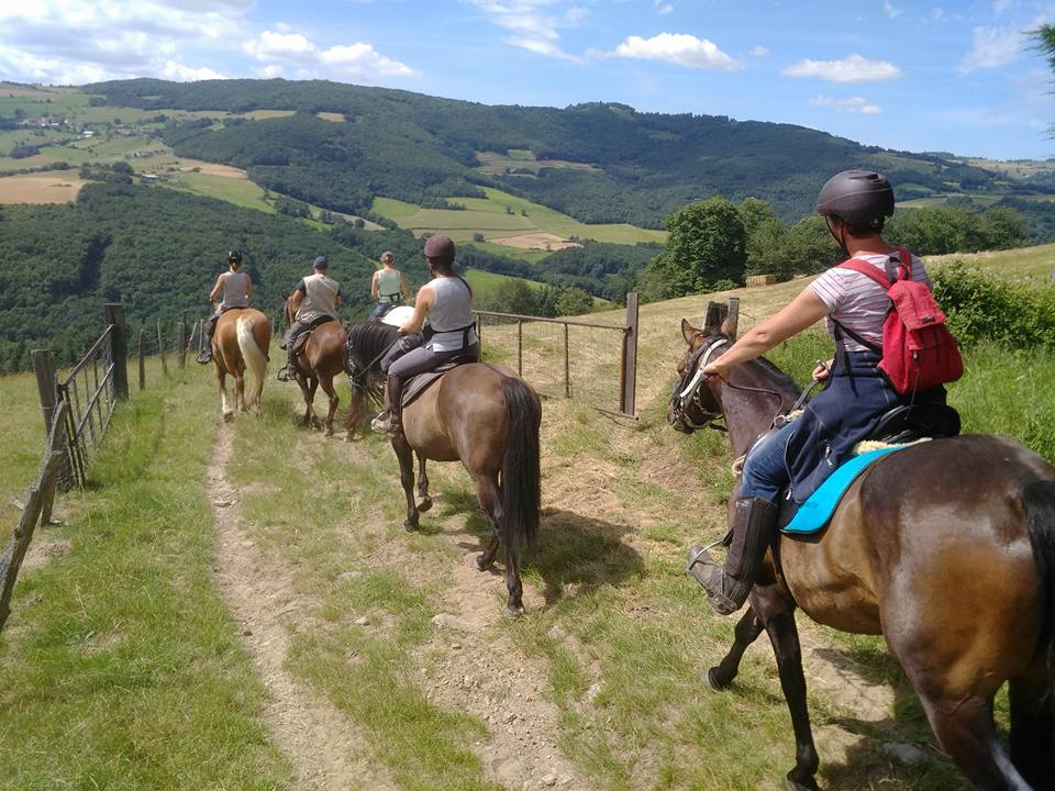 Balade à cheval écuries quintillière