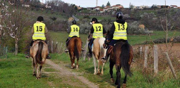 Equitation d'extérieur